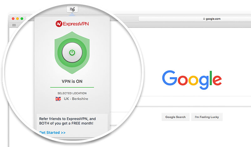 Get the ExpressVPN browser extension for Safari