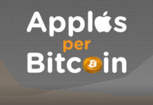 How many iPhones per Bitcoin?