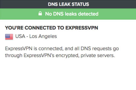 Test for DNS leaks