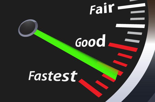 ExpressVPN is the fastest VPN