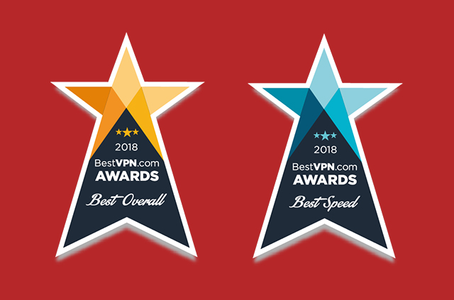 ExpressVPN won the overall best VPN in the BestVPN.com awards