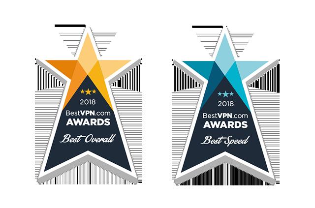 BestVPN.com Awards: Best overall VPN and fastest VPN