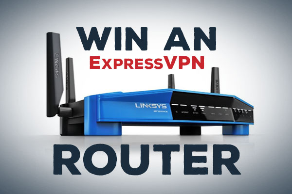 Win an ExpressVPN router!