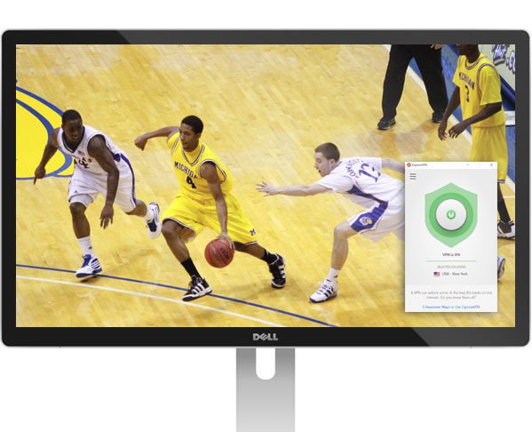 how to watch march madness live with expressvpn