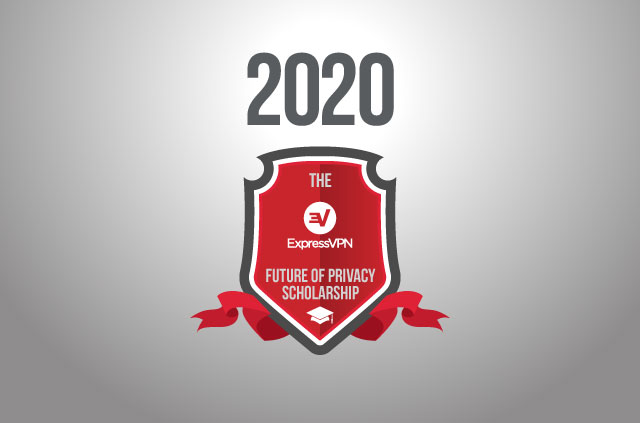 The ExpressVPN Future of Privacy Scholarship Logo 2020.