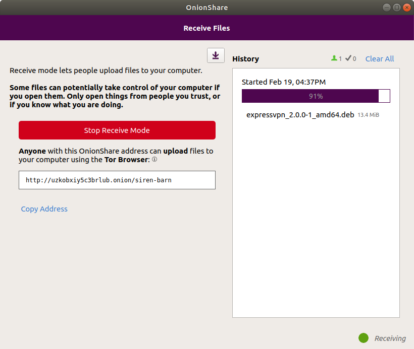 Share Files Securely and Anonymously with OnionShare 2