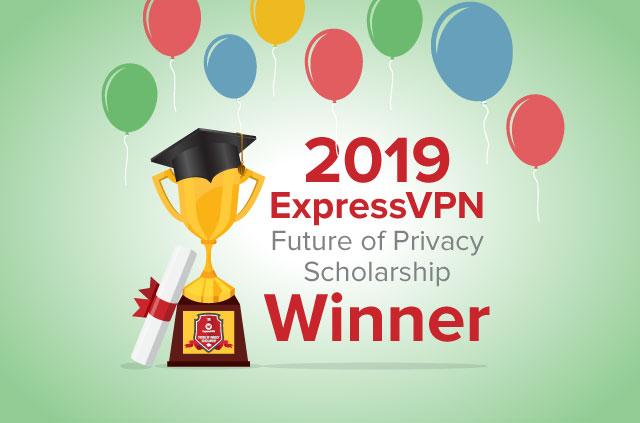 2019 ExpressVPN Scholarship winner