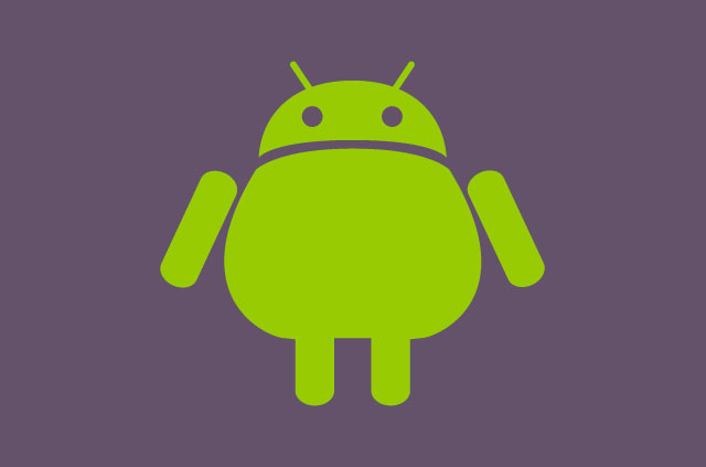 A chubby version of the Android logo.