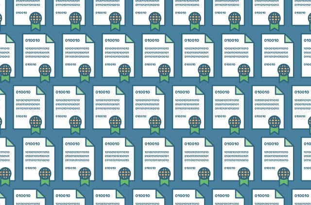 Tiled CA certificates.