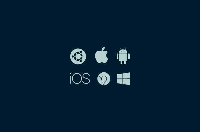 various operating system logos