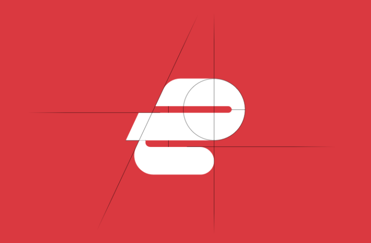 Designing ExpressVPN new logo.